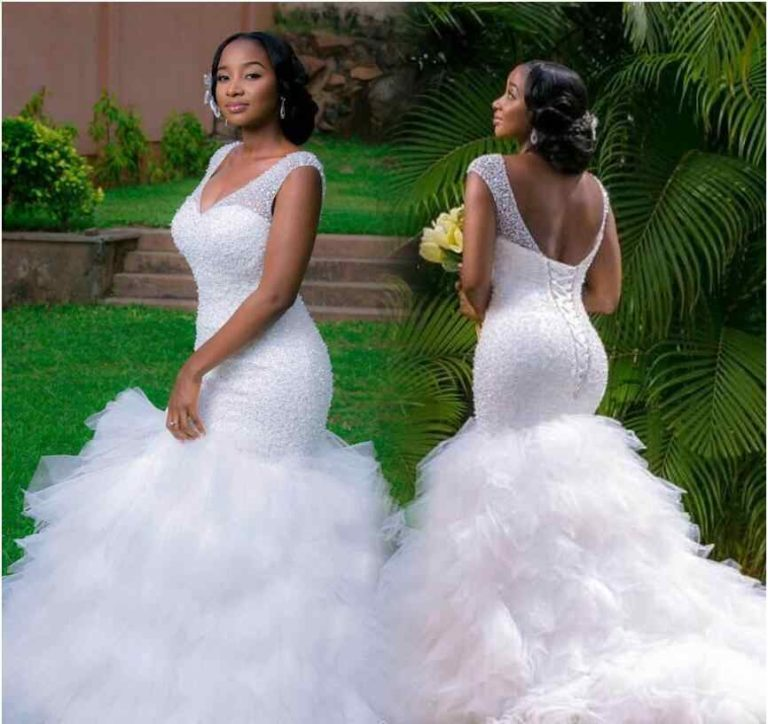 The Beautiful Soft Design of Simple Wedding Dresses