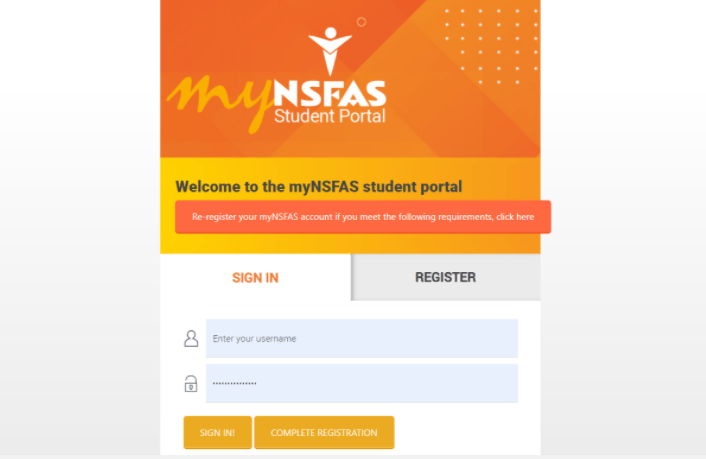 How to Reset Your MyNsfas Account Password
